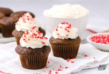 Peppermint Butter Cream Frosting