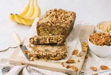 Praline Banana Nut Bread