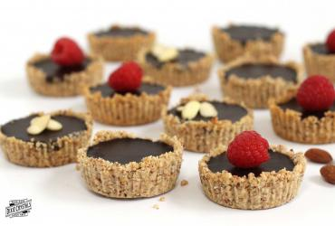 Chocolate Almond Tarts
