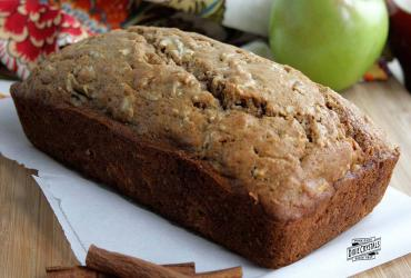 Spiced Apple Walnut Loaf