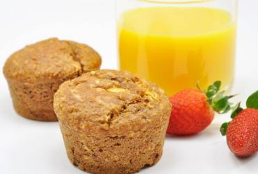 Steviacane Whole Wheat and Oat Morning Glory Muffins