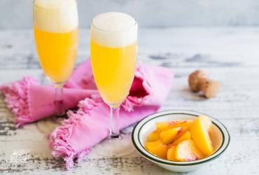 Virgin Peach Bellini