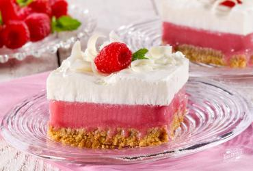 White Chocolate Raspberry Sorbet Bars