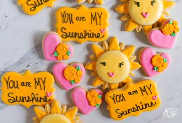 You Are My Sunshine Cookies