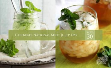 Celebrate National Mint Julep Day All Summer Long