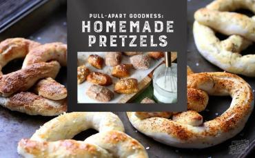 Pull-Apart Goodness: Homemade Soft Pretzels