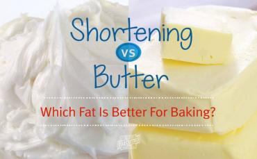 Shortening or Butter? Which Fat Is Better For Baking?