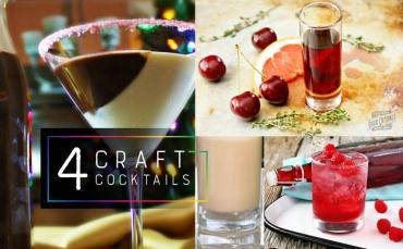 Domestic Mixology: 4 Craft Cocktails To Brew at Home