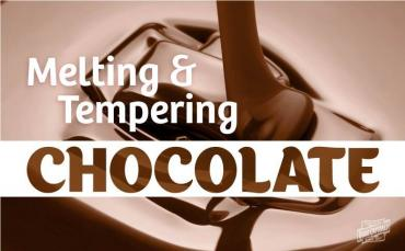 Melting and Tempering Chocolate – What's the Difference?