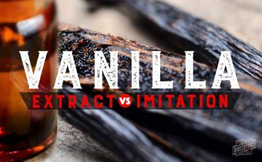 differences between vanilla extract & imitation vanilla