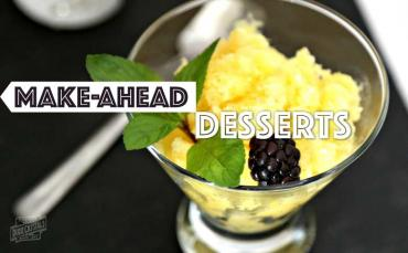 make-ahead desserts