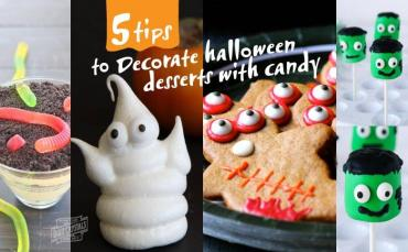 Decorate Halloween Desserts