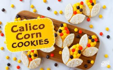 Calico Corn Cookies