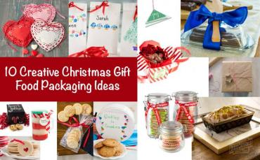 10 Creative DIY Christmas Gift Food Packaging Ideas