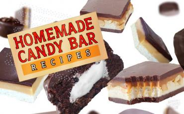 Homemade Candy Bar Recipes - Ding Dongs®, Snickers® & Twix®