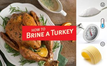Turkey Brine Tips and Recipes For The Holidays