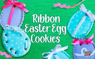 Ribbon Easter Egg Cookies Blog Dixie Crystals