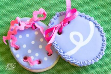 How to Make Ribbon Easter Egg Cookies